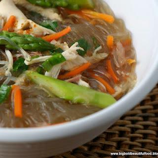 Mung Bean Thread Noodle Soup.