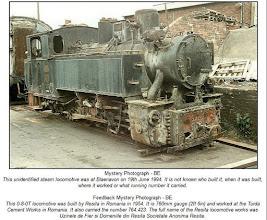 Photo: Locomotiva din depoul Fabricii de Ciment   - 1994 -  sursa, Facebook,  Suciu Petru https://www.facebook.com/groups/biselectro/permalink/986563741365587/