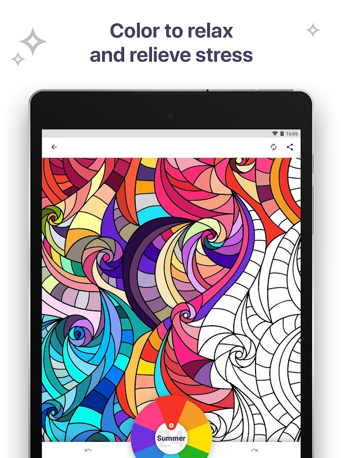 Coloring Book for Me & Mandala- screenshot