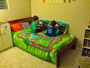 Photo: Clark and Finn Get Big Boy Beds