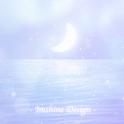 [임샤인] 오로라 파스텔 달 카카오톡 테마 (Aurora moon) icon