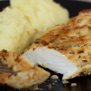 Baked Chicken Breasts And Mashed Potatoes Recipes.