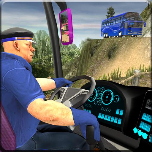 OffRoad Transit Bus Simulator - Hill Coach Driver