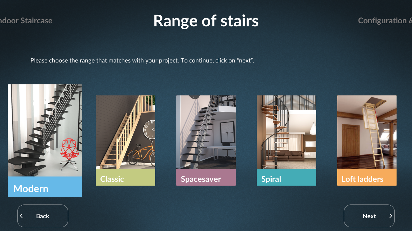 SOGEM Stair Configurator- screenshot