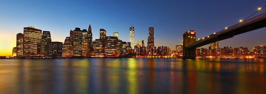 Manhattan Skyline After Sandy Storm by Al Juniarsam  - City,  Street & Park  Skylines