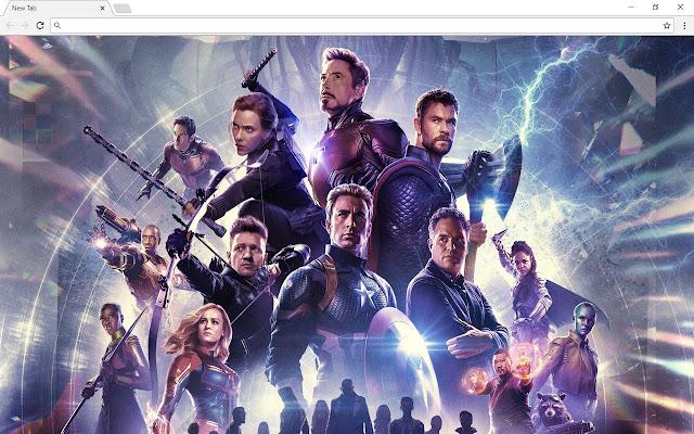 Avengers Endgame Pics & New Tab