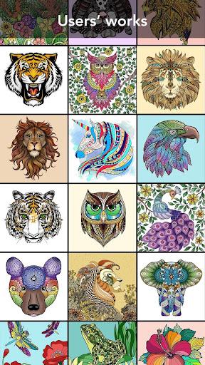 Animal Coloring Book 3.1.5 screenshots 3