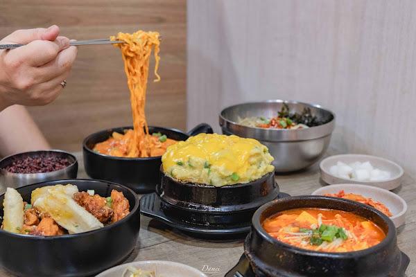 台北南京三民美食|韓喧-平價韓式料理,附近上班族的最愛