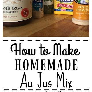 Homemade Au Jus Mix Recipe
