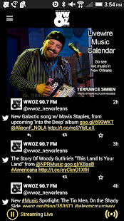 WWOZ- screenshot thumbnail