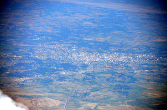 Photo: Iğdir, Ararat Plain and Aras River valley from Twin Peaks
