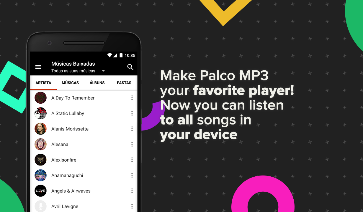Palco MP3- screenshot