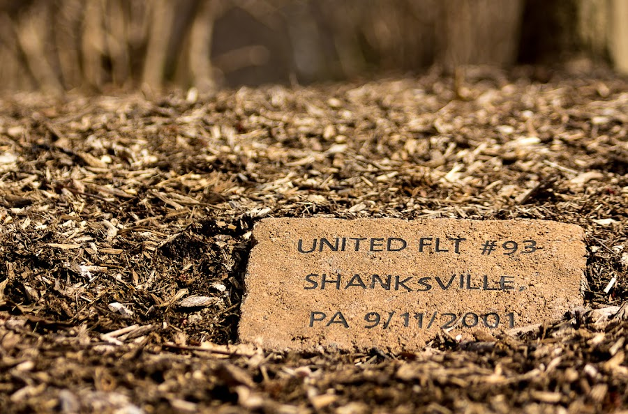United Flight 93 Memorial by Lisa Mirante - News & Events US Events ( united 93, memorial, brick, bark, brown, shanksville, 911 )