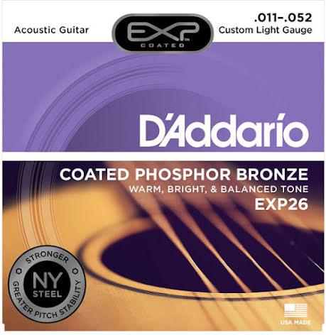 DADDARIO EXP26NY Western Coated Phosphor Bronze 011-052