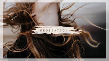 Minimalist Meditation - YouTube Channel Art template