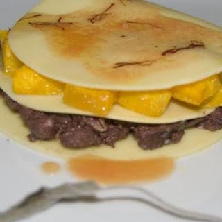Black pudding stuffed lasagna. Stop over at Master Chef.