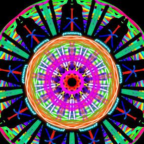 Spin wheel by Linda Tribuli - Drawing All Drawing ( digital abstract art design )