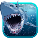 Shark Attack Animated Keyboard + Live Wallpaper icon