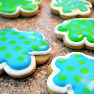 Baby Shower Cookies - Flooding Technique