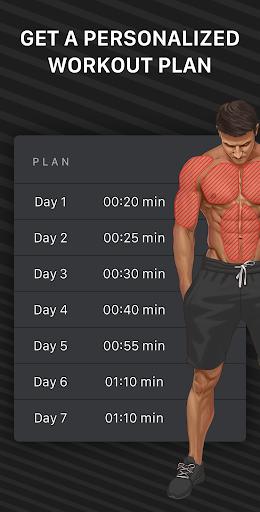 Muscle Booster Workout Planner  screenshots 2