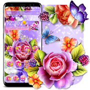 App Colorful Shiny Flower Theme APK for Windows Phone