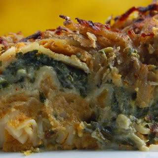Creamily Juicy Pumpkin And Spinach Vegan Lasagna (Melty On The Inside Crunchy On The Outside)