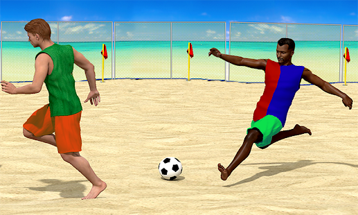Beach Football screenshot