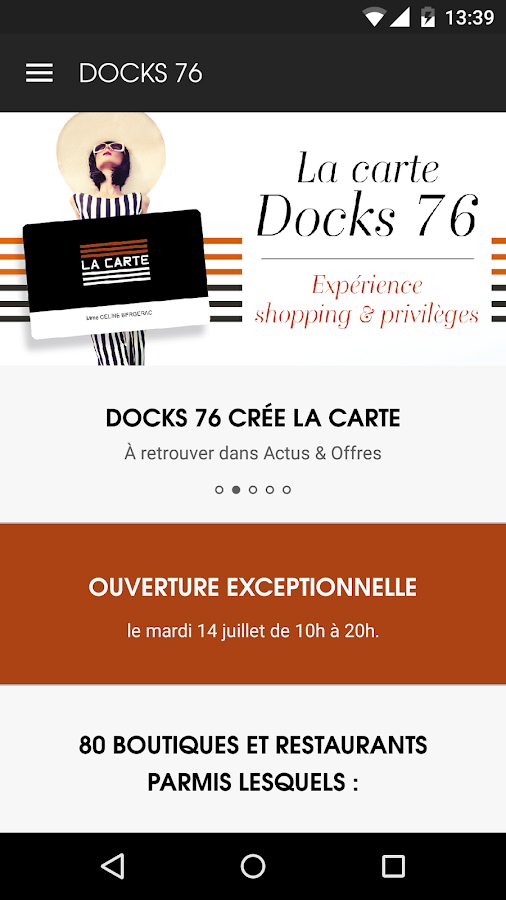 Docks 76 – Capture d'écran