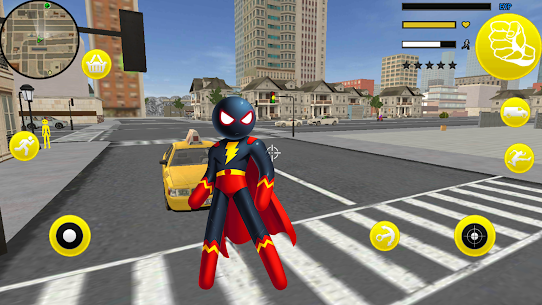 Superhero Stickman Rope Hero Gangstar Crime Mafia 1