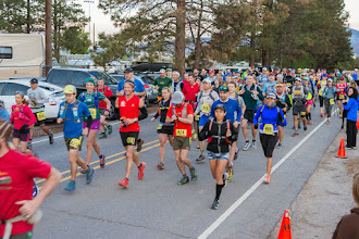 Photo: Start of race; 2015 Jemez Mountain Trail Runs, Los Alamos, NM