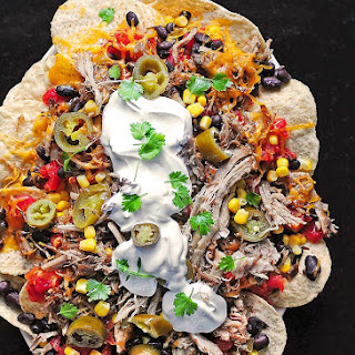 Loaded Pulled Pork Nachos