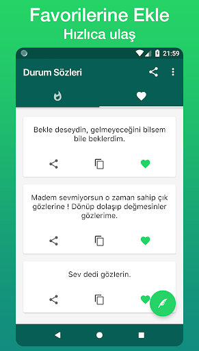Durum Sözleri 1.9.0 screenshots 4