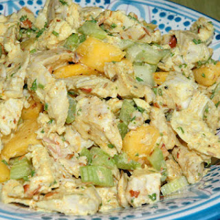 Peachy Chicken Salad