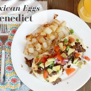 Mexican Eggs Benedict.