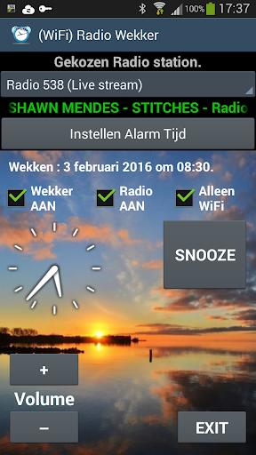 WiFi Radio Alarm Clock