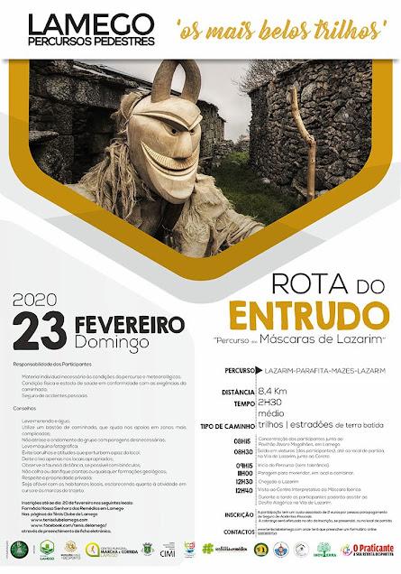 Programa – Rota do Entrudo – Lamego – 23 de fevereiro de 2020