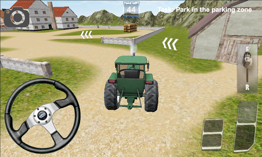 トラクター農業シミュレータ
