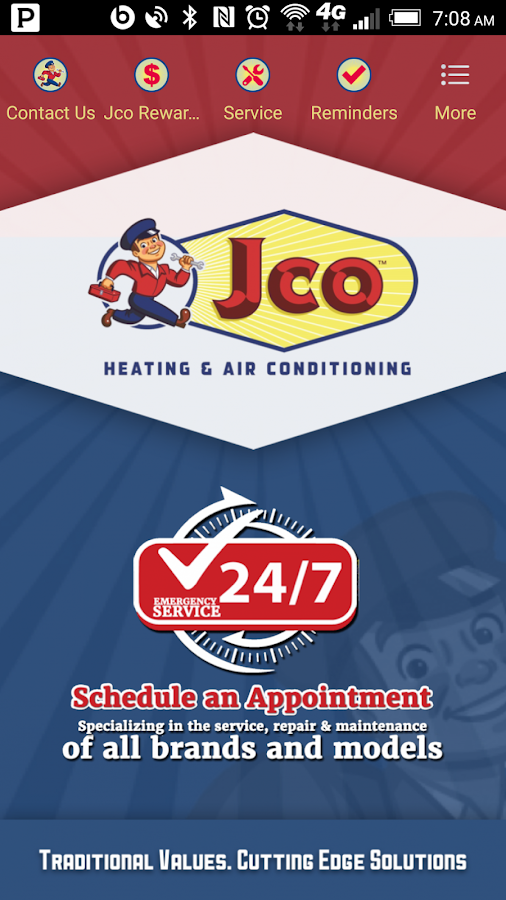 Jco Heating- screenshot