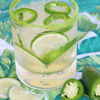 Jalapeño Limeade Cocktail.