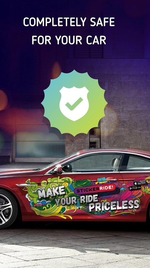 Make money on car - StickerRide- screenshot