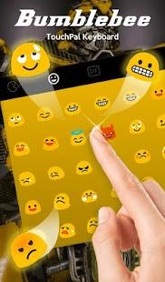Bumblebee Keyboard Theme - náhled