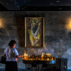 by Amir Kh - Uncategorized All Uncategorized ( prayer, church, armenia, jesus, candel, praying, pray )