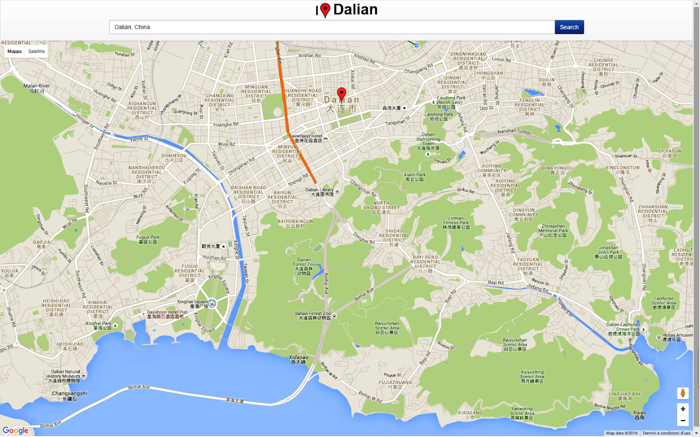 Dalian Map Android Apps on Google Play