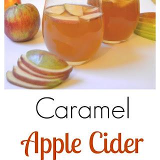 Caramel Apple Cider Cocktail