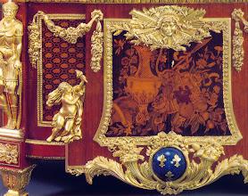 Photo: Detail Bildintarsie