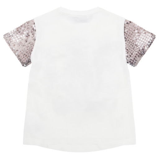 Thumbnail images of Roberto Cavalli Sequin T-shirt