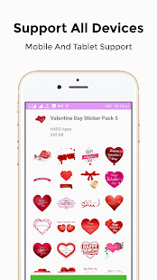 Download Valentine Stickers For WhatsApp WAStickerApps For PC Windows and Mac apk screenshot 4