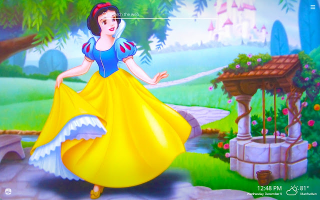 Snow White HD Wallpapers New Tab Theme