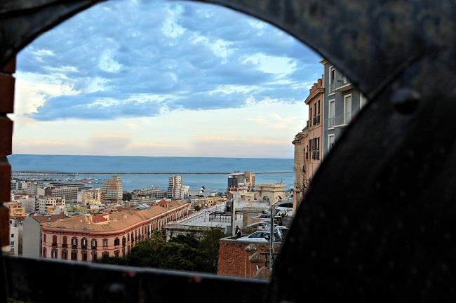 Una cornice su Cagliari di Erica C.