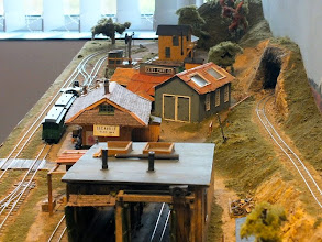 Photo: 095 John Spratley's HOn30 layout showing the passing station of Secaville, Elevation 635ft, on his FC Del Rio Palpo. I understand that the layout was originally built by Terry Lee .